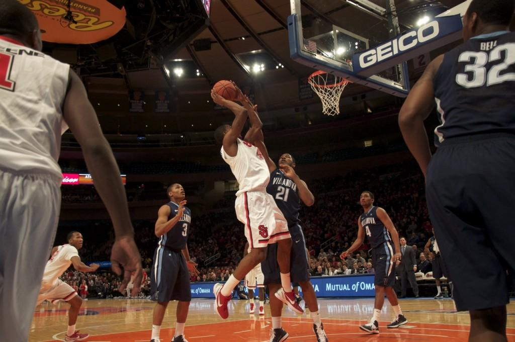 Career High From Harrison Not Enough as St. John's Falls to Villanova