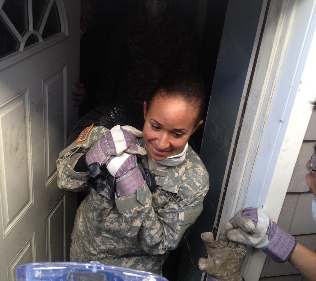 ROTC Cadets Lend a Helping Hand