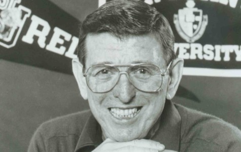 Hanging with 'Looie': Carnesecca sits down with the Torch, reflects on past