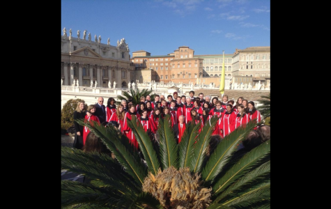 Mixed Chorus performs for Pope Francis, visits Italy over winter break