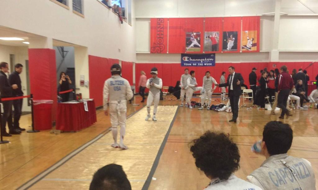 Fencers lose more than win in home invitational