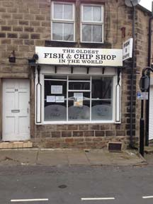 Oldest fish and chips shop, adventures