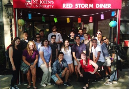 LGBTQ Students Welcomed at SPECTRUM Initiative's BBQ – Members Share Hopes for the Program's Future
