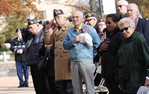 Veterans Day at St. John's celebrates those who served in armed forces