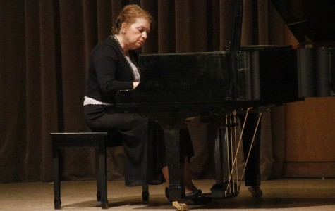 Piano instructor a major success at benefit concert