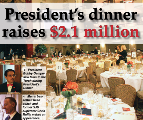 18th annual president's dinner celebrates Vincentian service