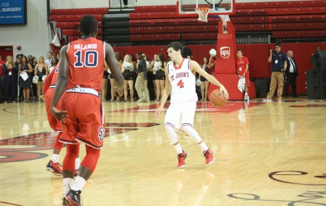 Mussini led Johnnies easy to victory over UMBC