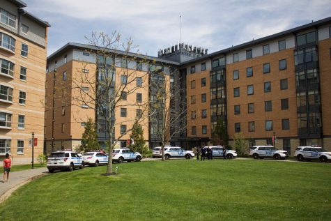 Gunshot fired in Hollis Hall