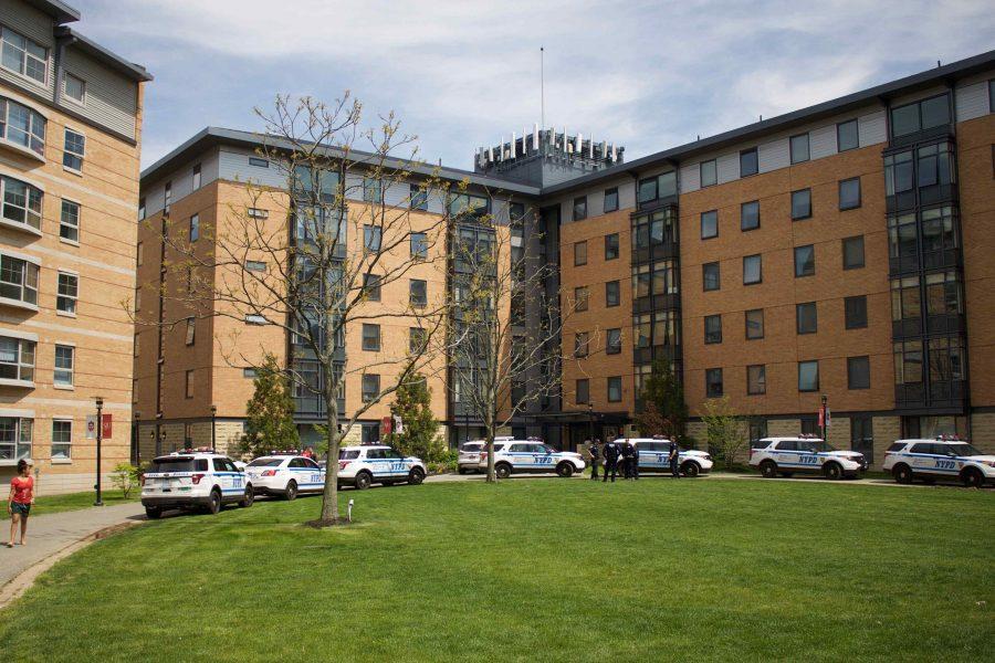 Gunshot fired in Hollis Hall