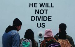"""He Will Not Divide Us"" Exhibit"