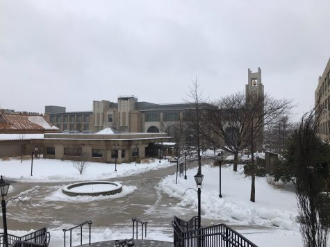Campuses open on Wednesday, storm brings minimal snow