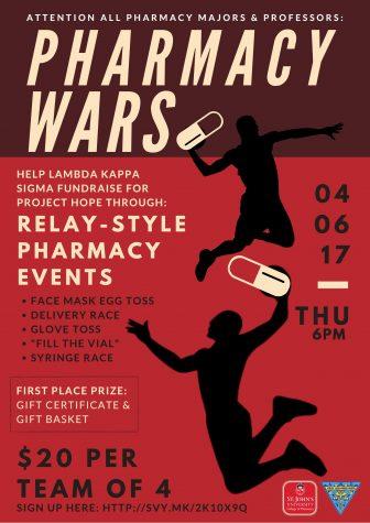 Lambda Kappa Sigma to host Pharmacy Wars