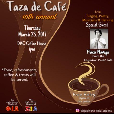 Taza de Café to take place on March 23