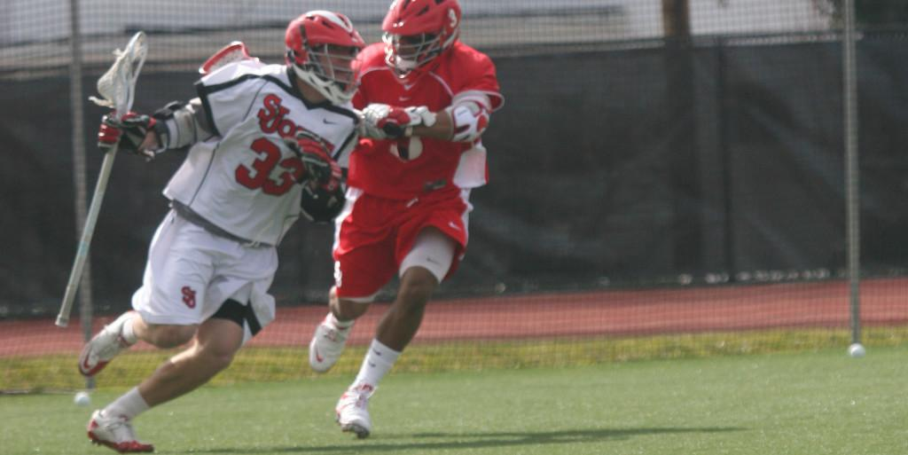 Freshman Kevin Cernuto was one of three St. John?s players with a hat trick.
