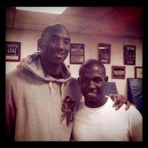 Kobe Bryant Visits Campus