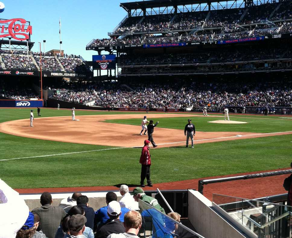 Citi Field, which opened in 2009, saw its largest crowd ever of 42,080 on Opening Day.
