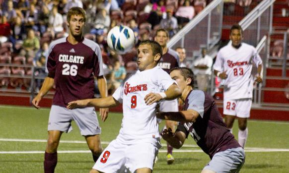 Men's Soccer Held to Draw