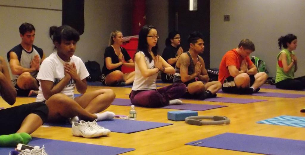 Stretching Gender Rolls at Yoga