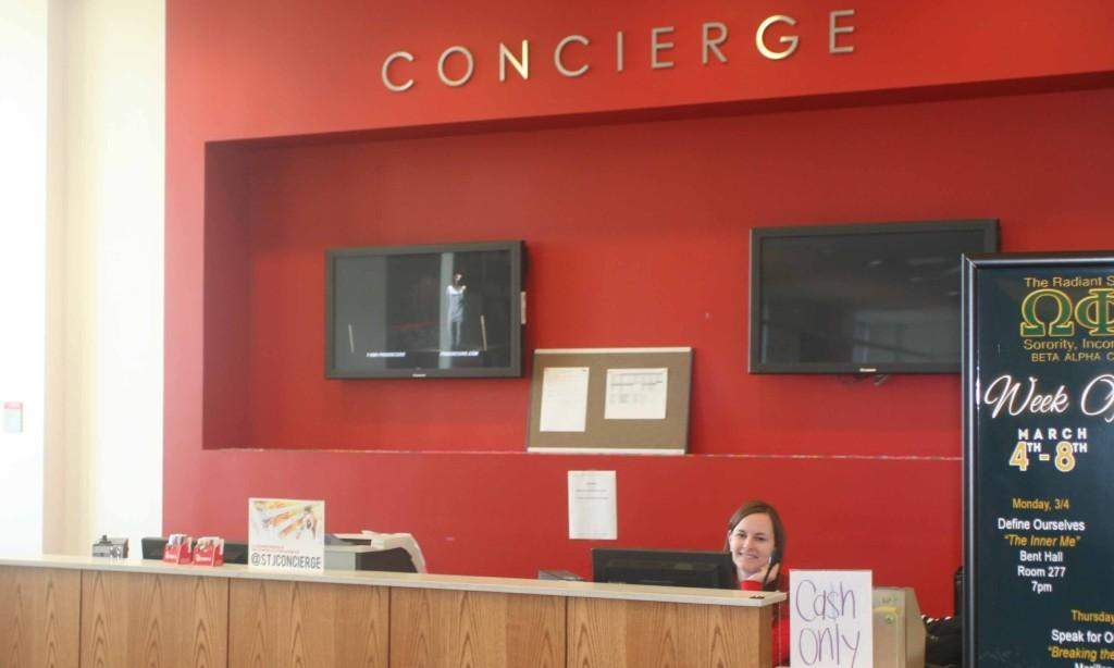 Campus Concierge Keeps Costs Cheap