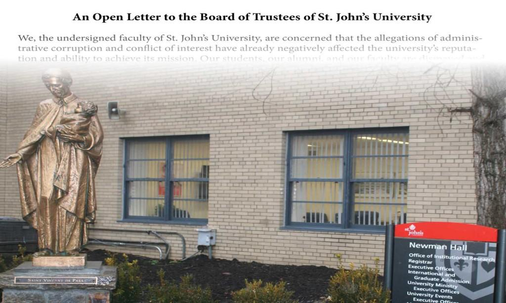 Faculty Members Circulate Petition Aimed at Board