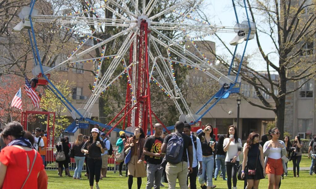 Around 3,000 students go to Spring Fling Carnival