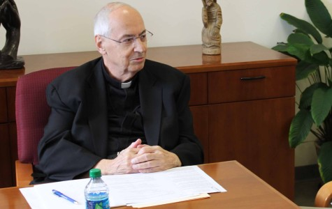Ready to serve: Torch Q&A with interim-President Rev. Levesque