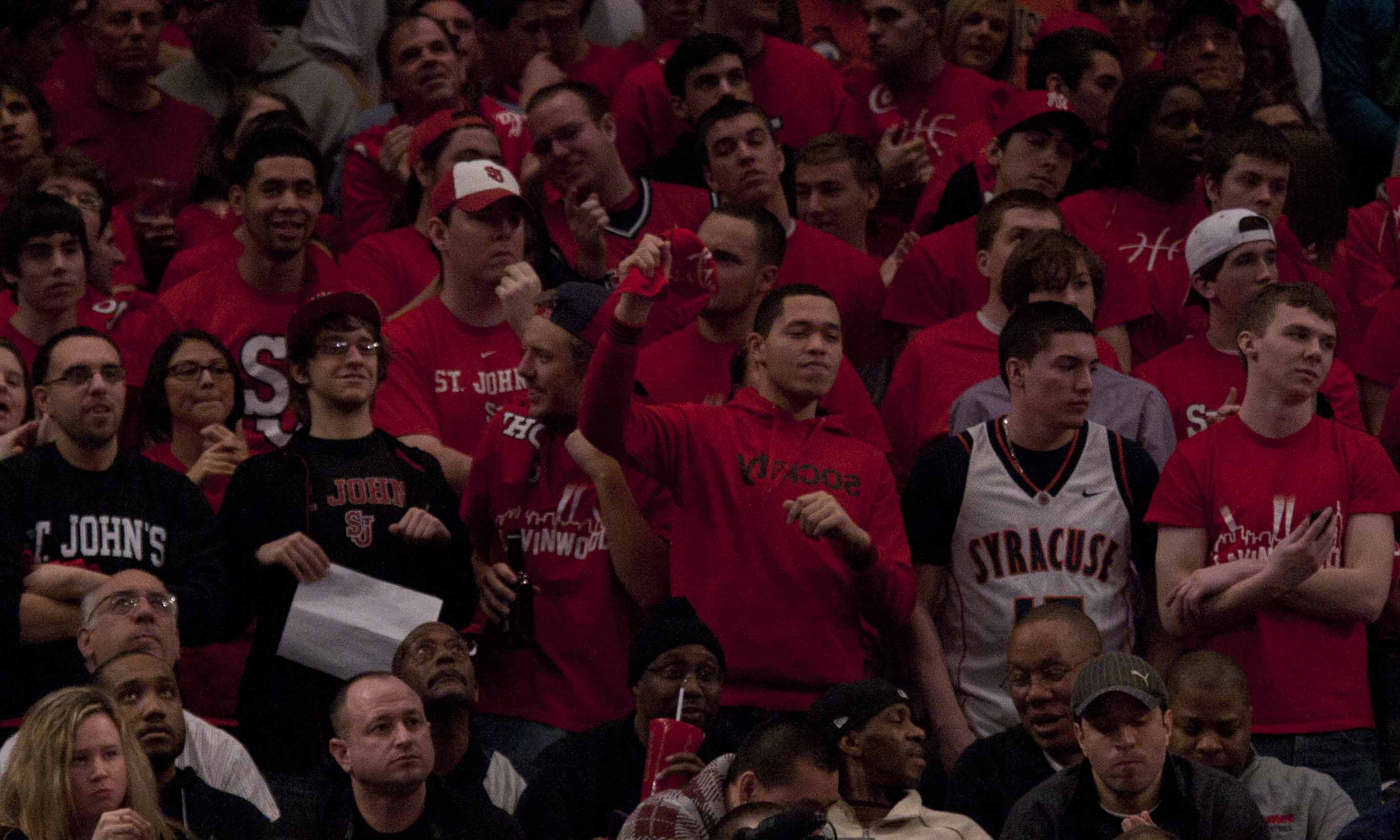 Red Zone isn't just seen at Madison Square Garden but at all events as well