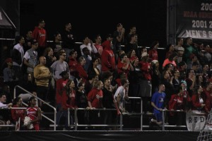 Red Storm fans rock the Belson thus far