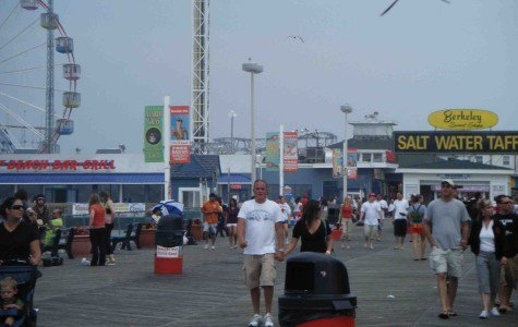 The Jersey Shore boardwalk.
