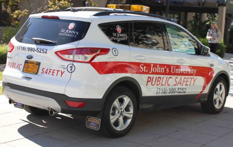 Public safety cars will look to capture the assailant who forcibly touched a female student on Friday evening.
