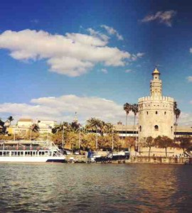 Seville is one of three cities where study abroad students stay during the summer.