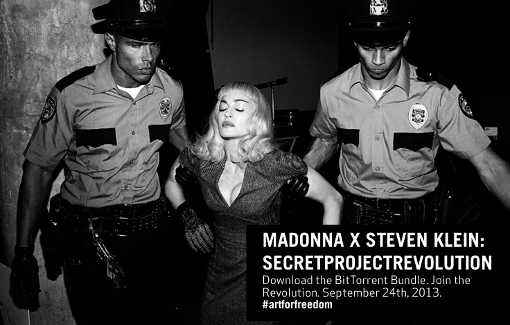 Madonna's 'project' seeks artistic freedom