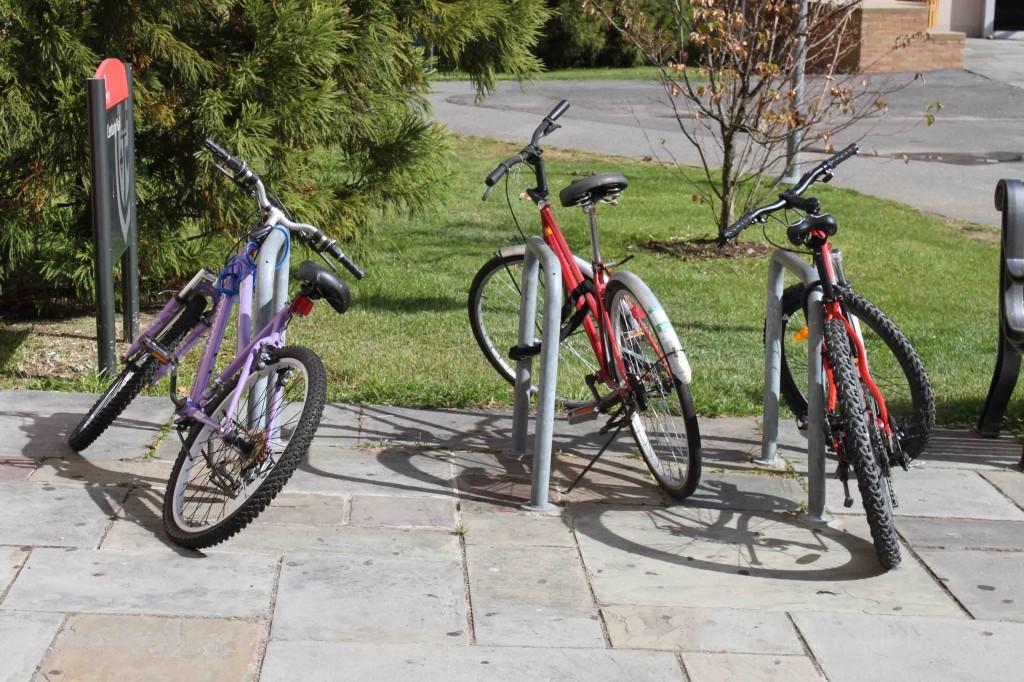 The Bicycle Coalition aims to add more bicycle racks around campus.