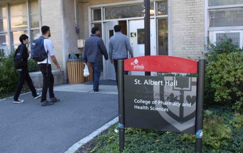 St. Albert Hall is home to the pharmacy program and provides a high-tech education.