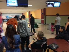 ROTC students gathered at a local bowling alley to raise money for charity.