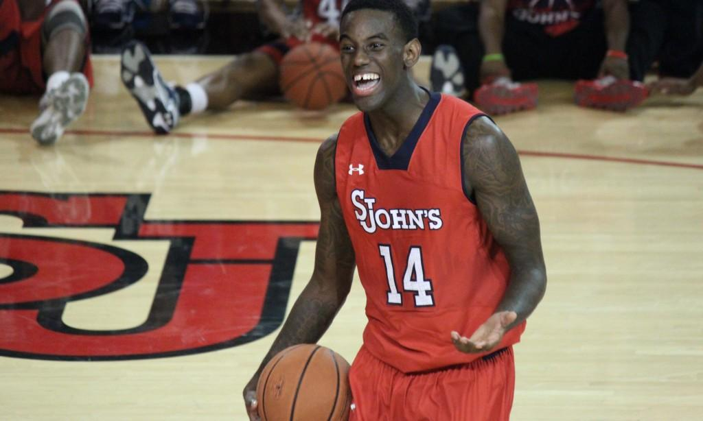 JaKarr Sampson had 21 points in Friday's loss to Wisconsin.