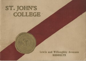 A student handbook dating book to the 1950s. Photo: University Archives
