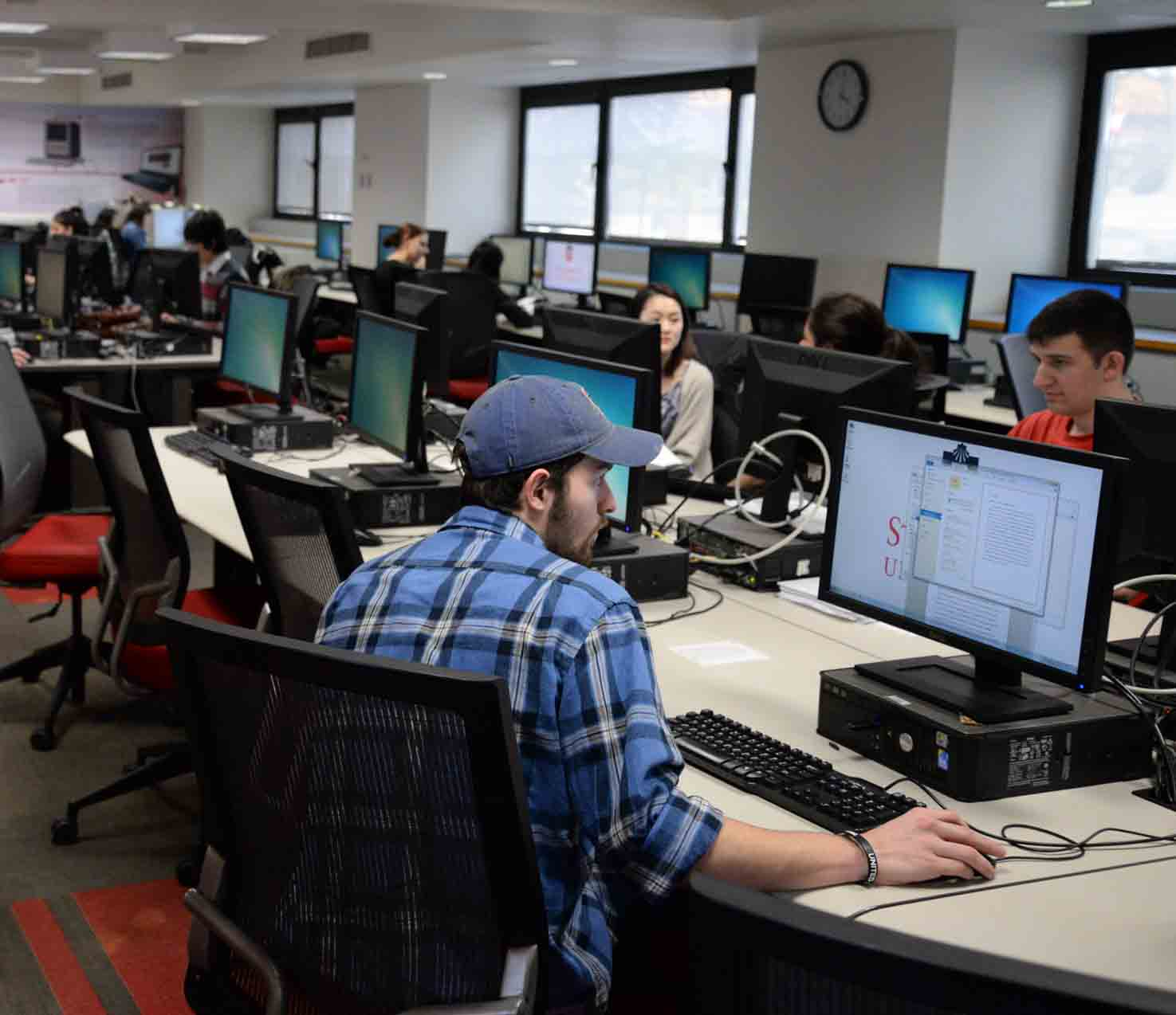 University warns students of possible cyber threats.