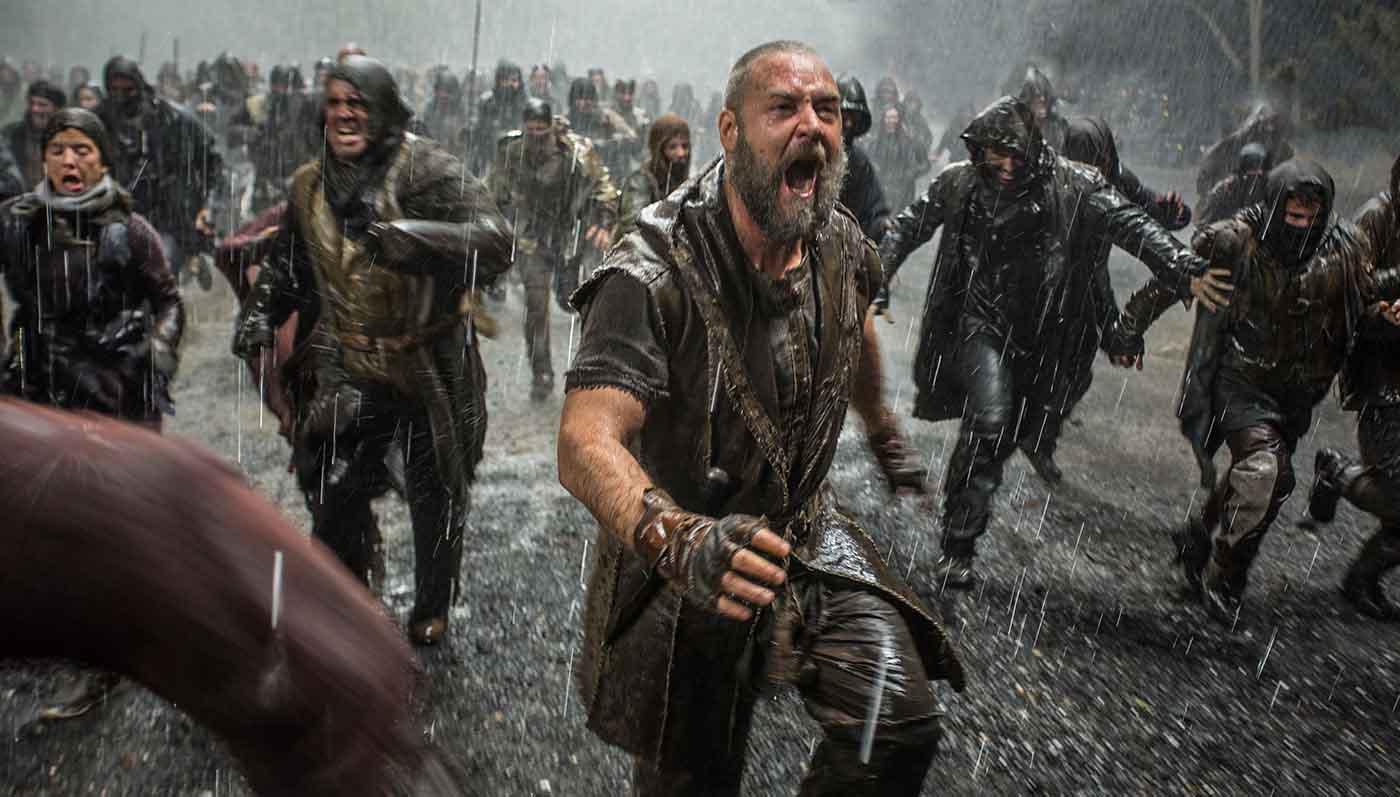 Noah finished #1 opening weekend grossing $43.7 million.   Photo: Paramount