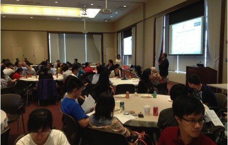 International Students and Scholars Welcomed at University's Luncheon