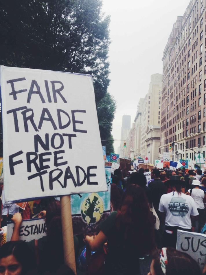 The NYC Climate March was day three of the Climate Convergence event.