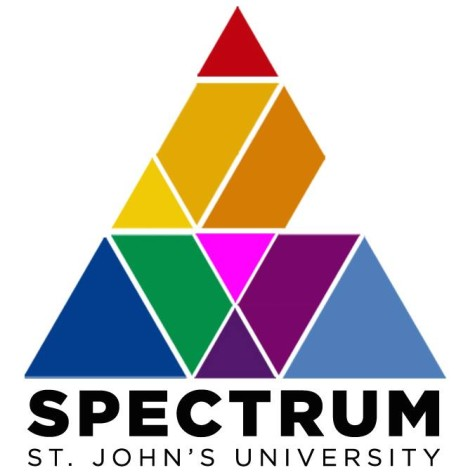 The SPECTRUM logo. Photo: Spectrum at St. John's University Facebook Page