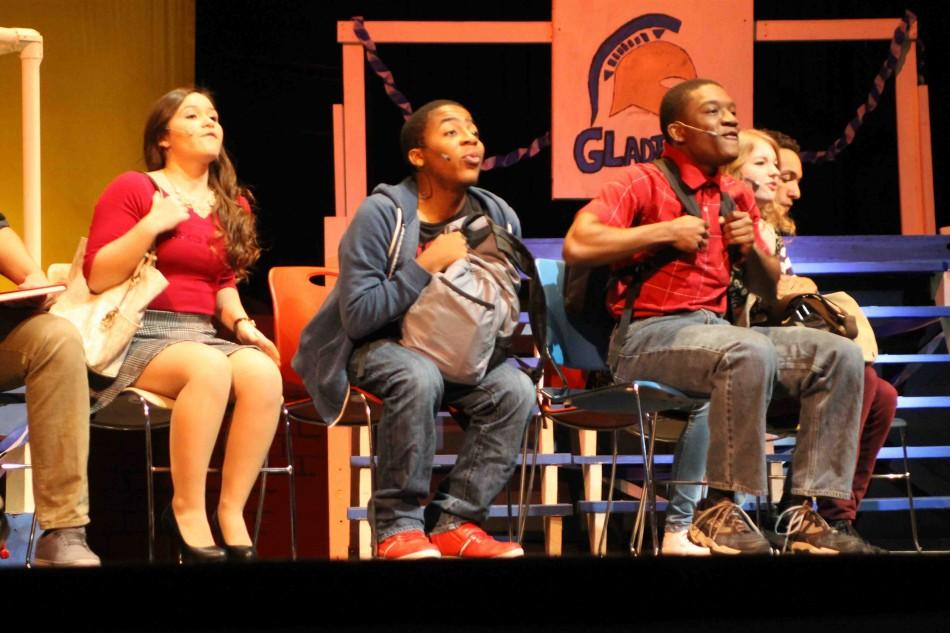 The Chappell players borrowed Disney songs to complement each characters story.