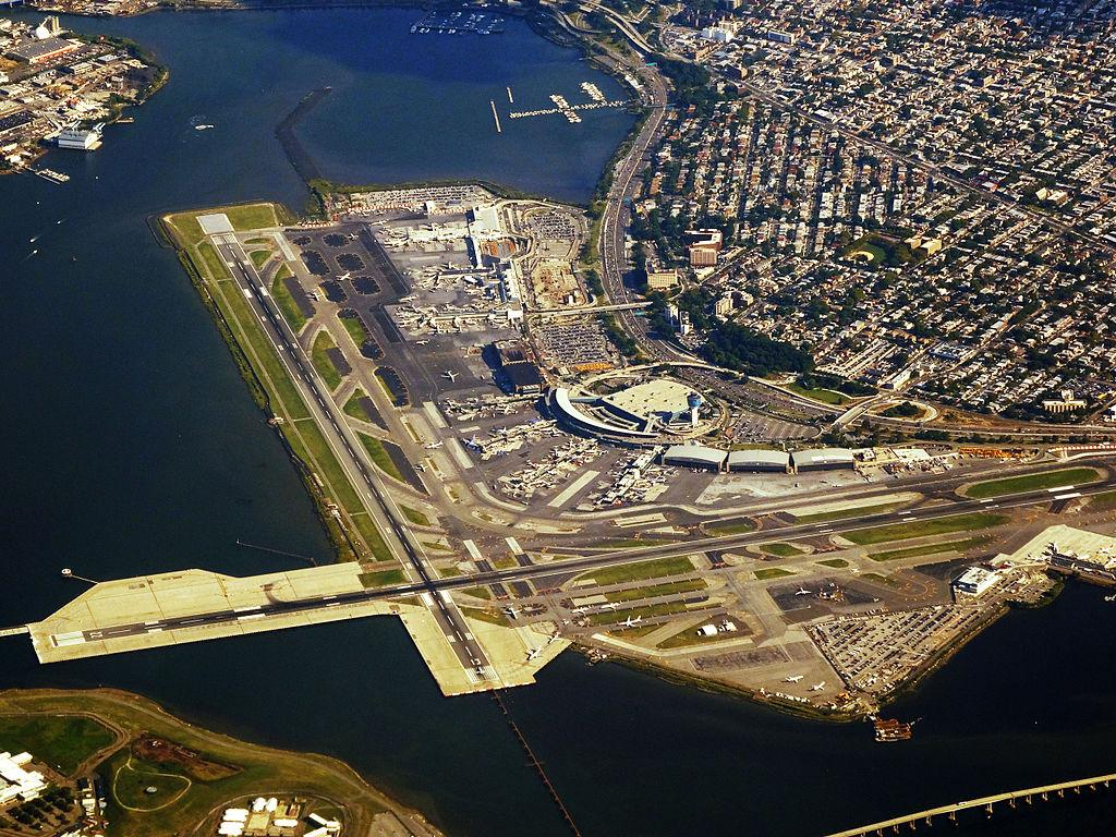 An aerial view of LaGuardia Airport.  Photo: Wikimedia Commons