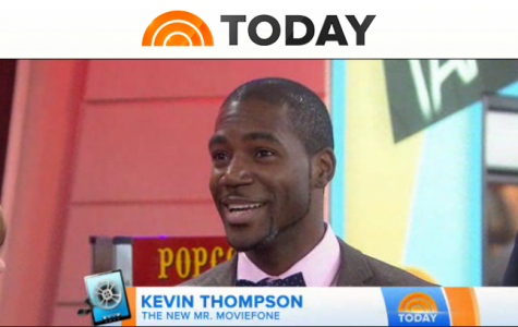 Kevin Thompson was recently named Mr. Moviefone on The Today Show.