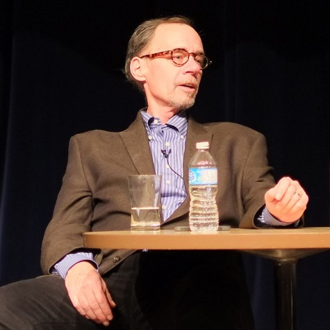 David Carr speaks at the PuSh International Performing Arts Festival at Capilano University in Feb. 2013. Photo: Wikimedia Commons