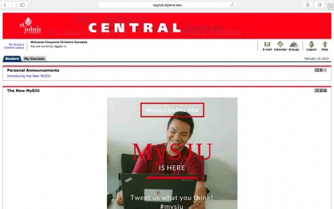 "The old St. John's Central page. Central was a ""single system that did not provide the means of proper promotional purposes."" Screenshot: Cheyanne Gonzales"