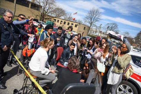 University Career Center organizes mock campus emergency