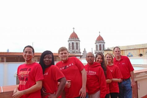 Graduate program students speak on educational experience in Cuba