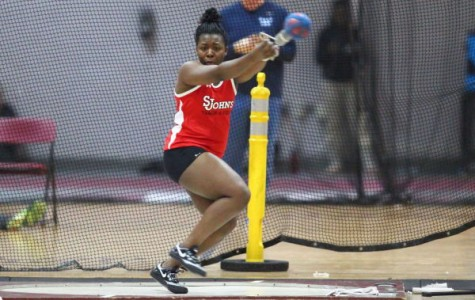 Track and field captain takes final bow